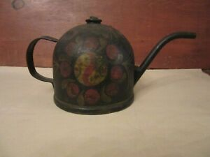 Early Toleware Oil Can
