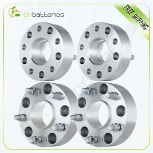4 2 Hubcentric Wheel Spacers 5x5 5 9 16 Bolt For 2002 2010 Dodge Ram 1500