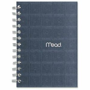 Mead 45186 Recycled Notebook 80 Sheet College Ruled 5 X 7 White