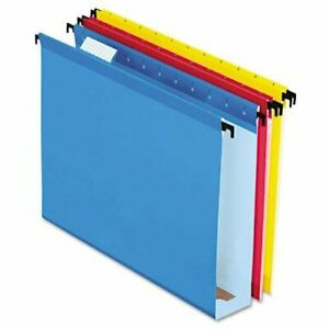 Esselte Extra Capacity Hanging File Folder Letter 8 50 X 11 2 Expansion
