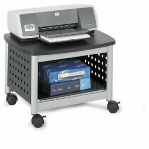 Safco Scoot Printer Stand 14 5 Height X 20 3 Width X 16 5 Depth Steel