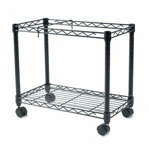 Fellowes High capacity Rolling File Cart 4 Caster Metal Steel 24 X 14 X