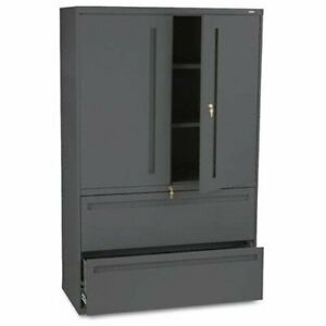 Hon 700 Series Lateral File With Storage Case 42 X 19 3 X 67 Steel 2 X