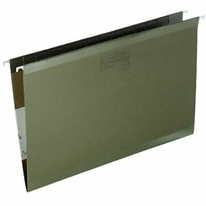 Pendaflex Reinforced Hanging Folder Legal 8 50 X 14 Standard Green 25
