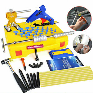 Super Pdr Auto Body Dent Repair Kit Slide Hammer Hand Puller Car Dent Puller