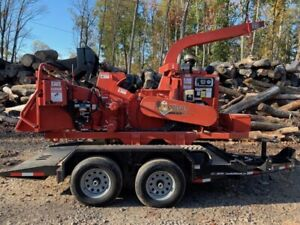 2015 Morbark M12r Track Chipper With Only 397 Hours 2709