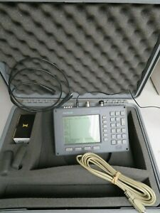 Anritsu Ms2711b Handheld Spectrum Analyzer 100khz 3ghz W Case Charger Nj17