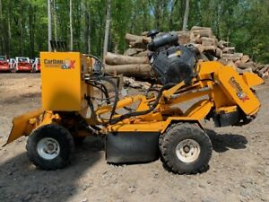2015 Carlton Sp5014 Stump Grinder With Only 708 Hours 2703