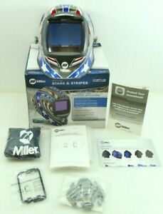 Miller Stars And Stripes Digital Infinity Auto Darkening Welding Helmet New