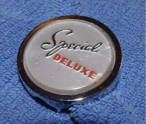 1946 1947 1948 1949 Plymouth special Deluxe Dash Medallion Bezel Emblem P15
