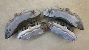 Touareg Set Of Brembo Calipers Caliper Fronts And Rears 2004