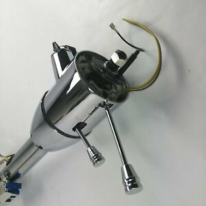 1970 1980 Monte Carlo 33 Chrome Tilt Steering Column Keyed Floor Shift Gmc