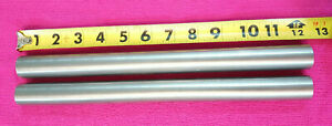 416 Stainless Steel 1 od Solid Round Rod 12 Long 2 Pieces New Lathe Stock