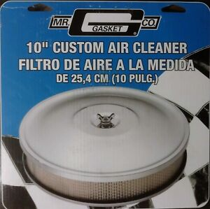 Mr Gasket Chrome Air Cleaner 10 X 2 9791