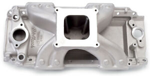 Edelbrock 2902 Intake Manifold Fits Big Block Chevy 396 502 Racing Engines