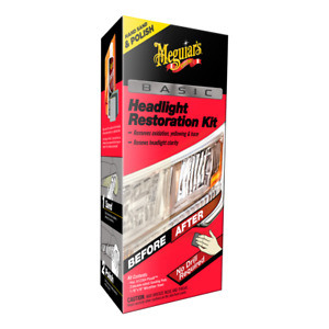 Meguiar s Basic Headlight Restoration Kit With Plastx Forheadlights Taillights