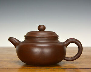 Fine Chinese Large Yixing Zisha Ceramic Teapot With Seal Mark