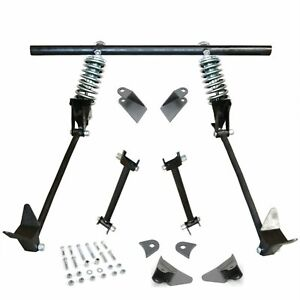 S10 Sonoma 1994 2004 Heavy Duty Triangulated 4 Link Kit Four Bar Coil Overs Ls