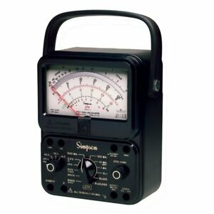 Simpson 270 5rt Extra high Accuracy Analog Multimeter Vom
