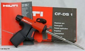 Hilti Cf ds 1 Foam Dispenser Gun Free Shipping