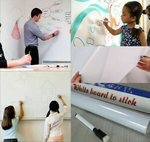 6 6 Ft Dry Erase Boards Whiteboard Wall Stickers Vinyl Chalkboard Contact Paper