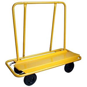 Pro Series 3000 Lb Capacity Drywall Cart Casters Wheels Strong Durable Nice