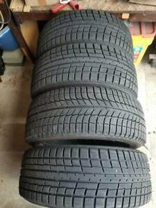 Snow Tires 215 50 R17 X4 Good Tread Local Or Contact Me For Ship