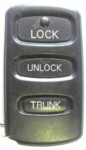 Keyless Entry Remote Mitsubishi Mr587981 Replacement Transmitter Control Beeper