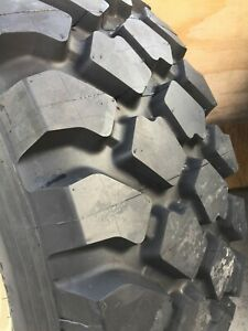 Used Michelin 395 85r20 Xzl 80 90 Tread Remaining 46 Inch Tall Military Tire