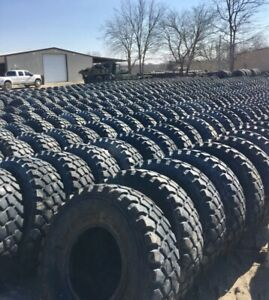 70 80 Goodyear Mvt 395 85 20 Tire Military 46 In Tall M35a2