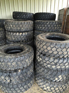 New Michelin Xzl 395 85 20 Tire 46 Inch Tall Military Monster Truck