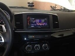 Car Stereo Radio Single Double Din Dash Kit Fits 2008 2017 Mitsubishi Lancer
