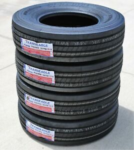 4 New Transeagle All Steel St Radial St 235 80r16 Load G 14 Ply Trailer Tires