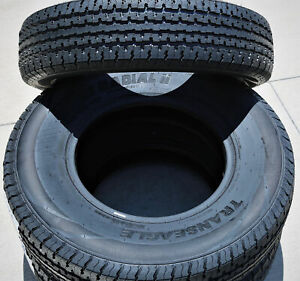 2 Tires Transeagle Ii Steel Belted St 225 75r15 Load E 10 Ply Trailer