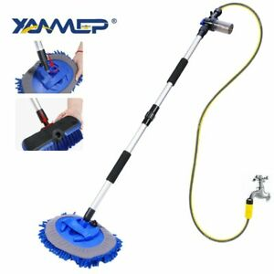 Car Wash Brush Chenille Mop Water Flow Car Cleaning Tools Foam Bottle Car Wheel