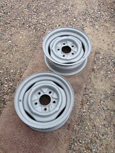 1956 1958 1960 1972 1974 1976 1978 Ford Pickup Truck 15 Inch Wheel Pair