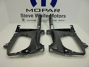 10 18 Dodge Ram 2500 3500 New Front Bumper Bracket Kit Right Left Mopar Oem