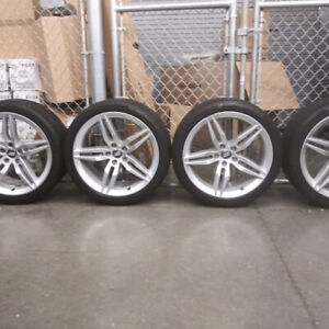 4 Audi A5 S5 2018 19 Rims And Continental Tires Take Offs Clean
