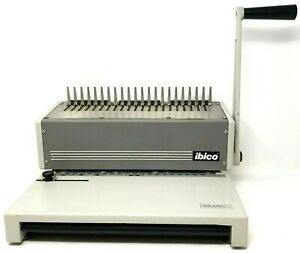 Heavy Duty Ibimatic Industrial Ibico Metal Comb Binding Machine System 3a24903