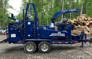 Bandit 2090xp Whole Tree Chipper W only 1359 Original Hours 2717