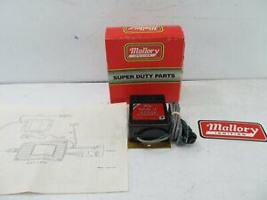 Mallory 639 4 Hyfire Iv Launch Stage Controller Kit Adj 2000 9000 Rpm Drag Race