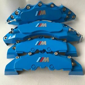 Blue M Performance Engineering Plastic Brake Caliper Covers 11 F 9 R For Bmw 3
