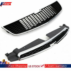 Front Bumper Upper Grill Middle Lower Grille For Chevrolet Cruze 11 14 Ups Ship