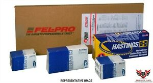 Felpro Hastings Clevite Chevy Sbc 327 350 Re Ring Kit With Main Bearings 68 79