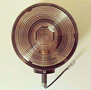 Vintage Clear Work Or Back up Light For Tractors Rv s Heavy Equipment Etc