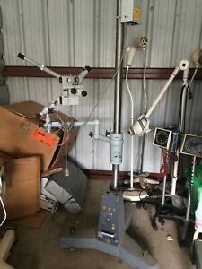 Surgical Microscope Carl Zeiss Opmi 1h Ent On Stativfuss S Base