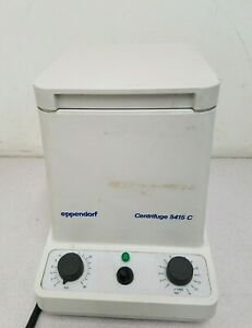 Eppendorf 5415c Centrifuge With Rotor