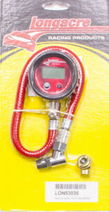Longacre 2 In Digital 0 100 Psi Basic Digital Tire Pressure Gauge P n 53036