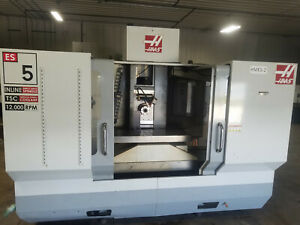 2010 Haas Es5 4t Cnc Horizontal Machining Center