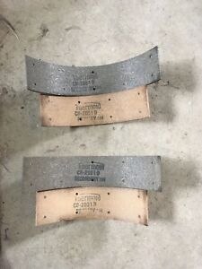 Thermoid 2051d Brake Lining Set 1955 Hudson And Nash